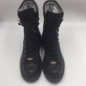 DANNER UNIS ACADIA BLACK BOOTS.  SIZE 61/2